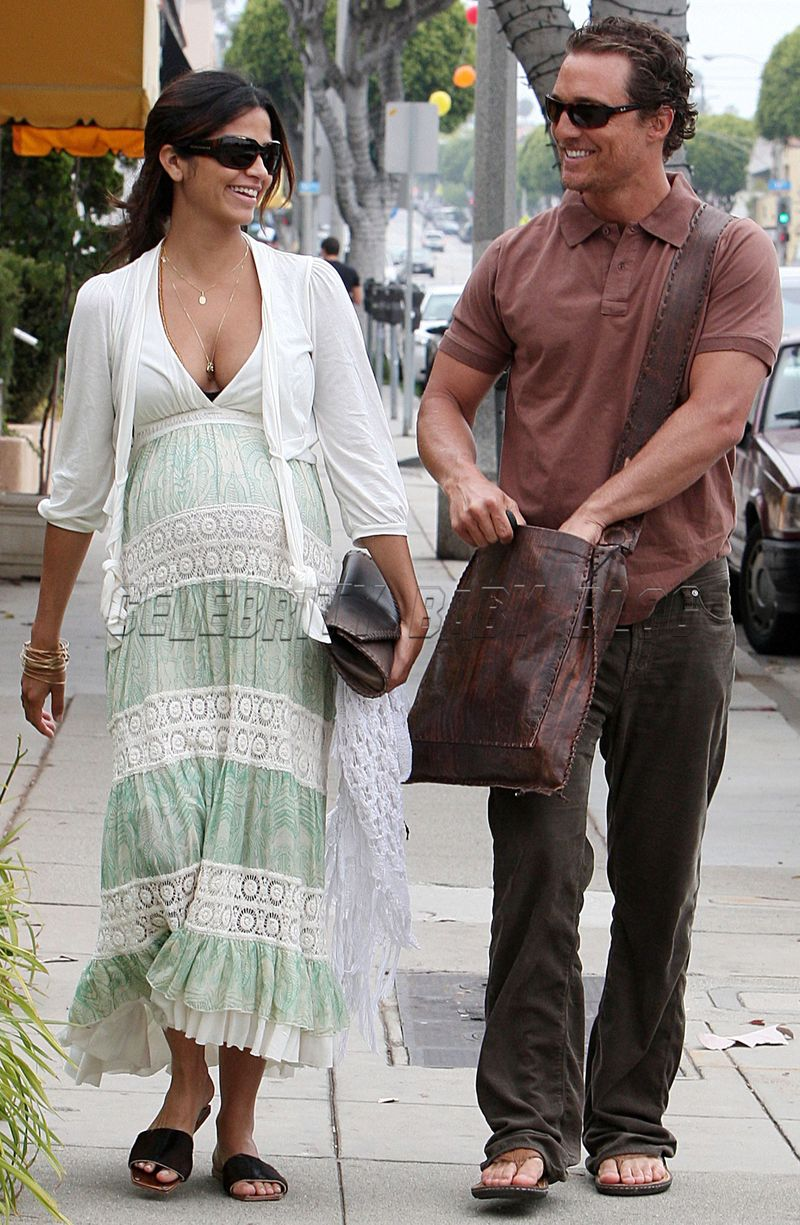 A Practice Run For Camila Alves And Matthew Mcconaughey Moms