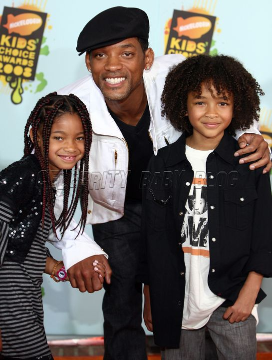 images of will smith and family. Will Smith, daughter to square