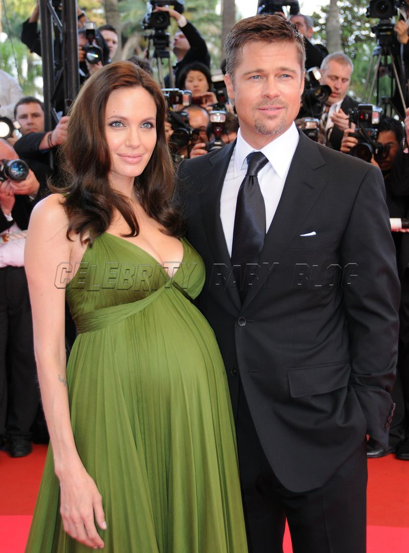 Angelina jolie and brad pitt welcome twins knox léon and vivienne