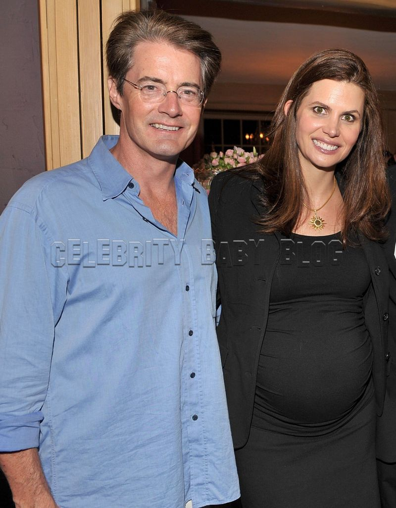 Kyle MacLachlan couple