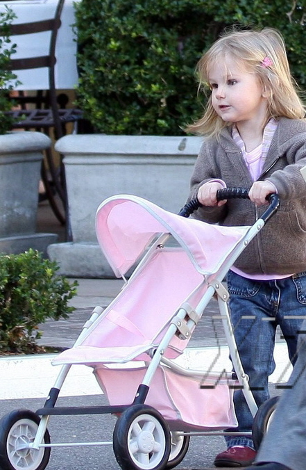 Celebrity pushchairs