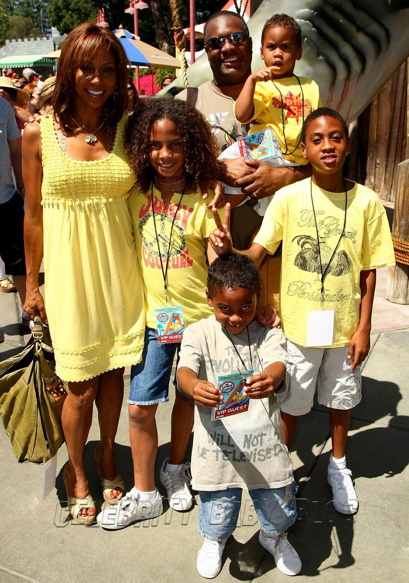 Holly Robinson Peete F...Holly Robinson Peete Family