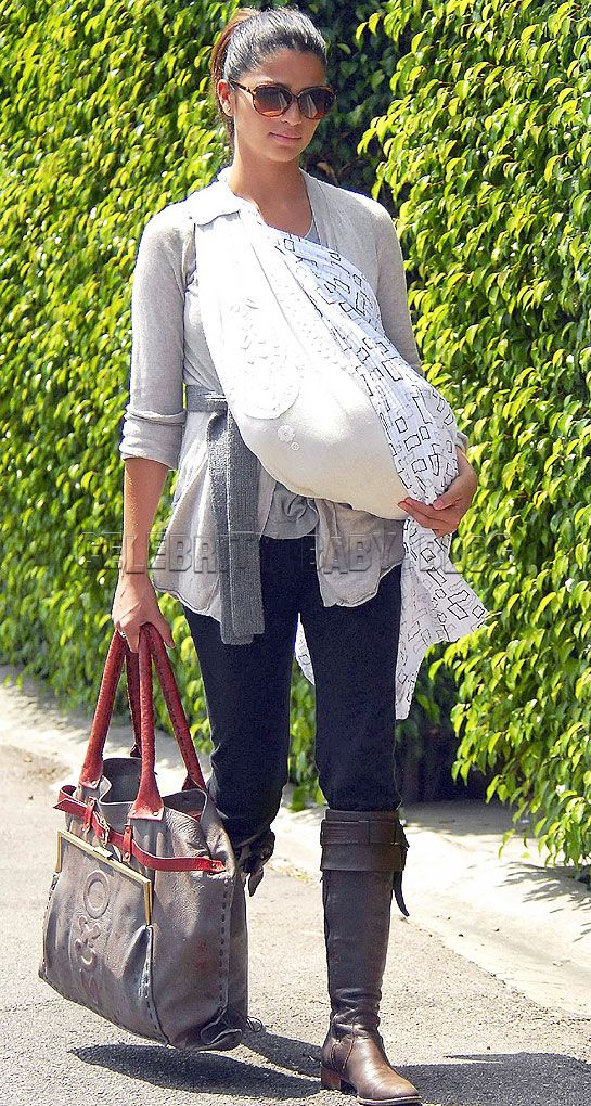 Camila Alves Takes Levi Out And About Moms Babies Celebrity