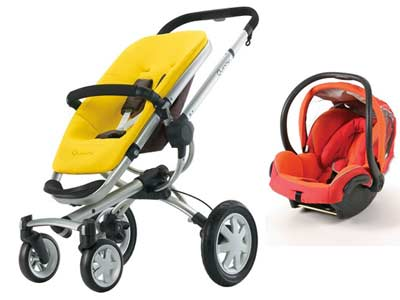 Win The Brand New Quinny Buzz 4 Stroller And Maxi Cosi