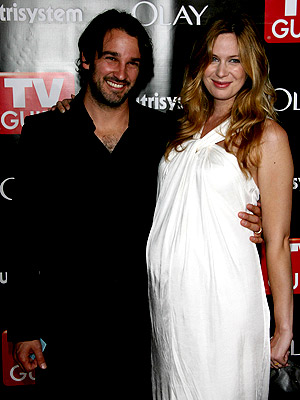 Anne Dudek Hits Emmy Afterparties with Hubby