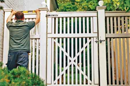 Fence Gate Plans - How to Build a Nice and Sturdy Fence Gate