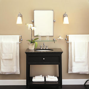 Bathroom Lighting This Old House the bath showcase: a lesson in bathroom lighting | bathroom