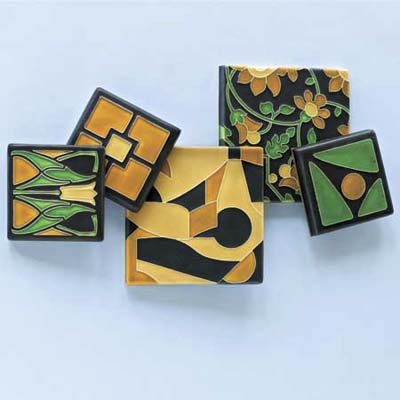 reproduction art and crafts tiles