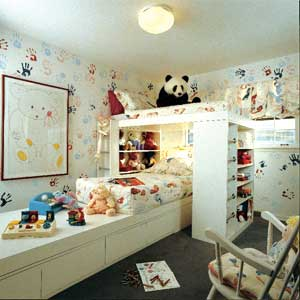 trendy child room decor