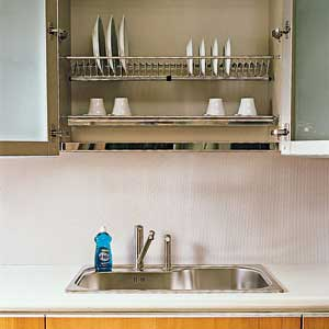 Smart Kitchen Storage Solutions | Dish drying racks, Water drip ...