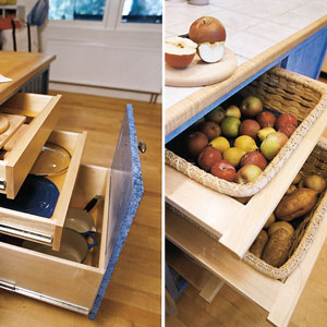kitchen interior: maximizing kitchen storage cabinets