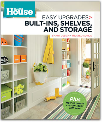 this old house  Easy Upgrades: Built-Ins, Shelves, and Storage book