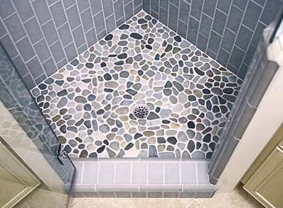 Minimal bathroom tiles