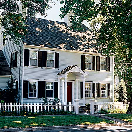 Houses Dressing Restored Georgian Home In Connecticut