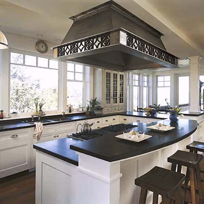 2 Level Kitchen Island