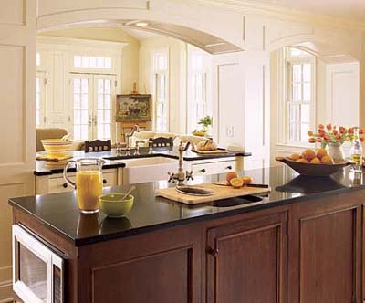 Kitchen on Discount Kitchen Countertops  Dark White Kitchen Island Modeldesigns