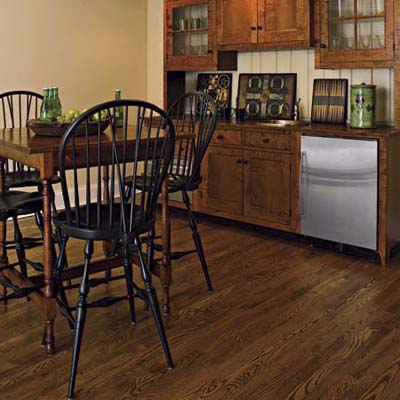 Article: Wood or wood look?(special section - flooring)(Buyers