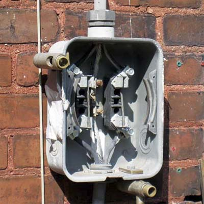 Bypassing Electric Meter