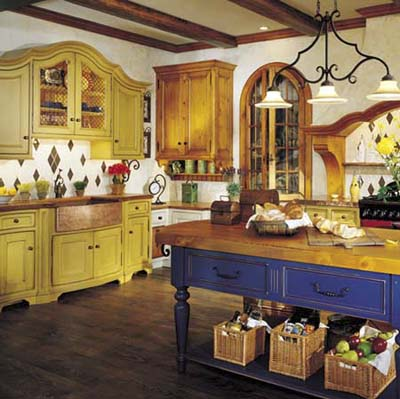 Country Kitchen Design - Pictures and Ideas