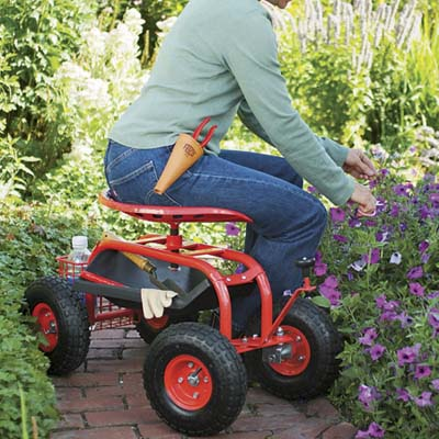Anybody Use These Garden Scooters? | Welcome To The Homesteading Today  Forum And Community!