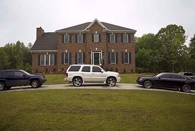 NBA star Chris Paul's Colonial-style house