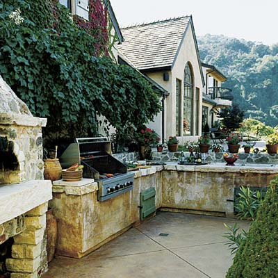 Images Outdoor Kitchens on Outdoor Kitchen   Photos   Outdoor Kitchens   Kitchens   This Old