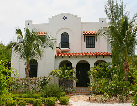Mediterranean House Plans and Spanish Home Plans
