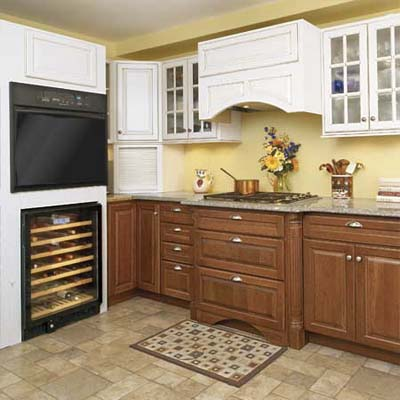 complete showroom kitchen