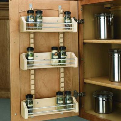 Kitchen upgrades to streamline your busy routine This Old House – Over Cabinet Door Storage