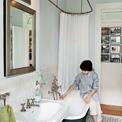 Bath gets a classic redo 1920s style for Bathroom 1920s style