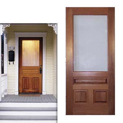 Cottage simple door door design pictures for Simple entrance door designs