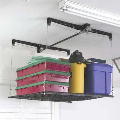 Amazon.com: HyLoft 540 45-Inch-by-45-Inch Overhead Storage System