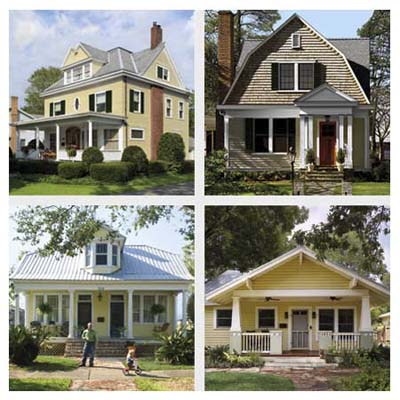 four house exteriors with dramatic upgrades