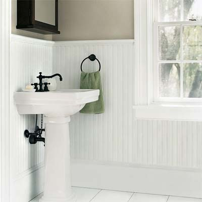 Genial Bathroom Design Ideas With Wainscoting Interior Design