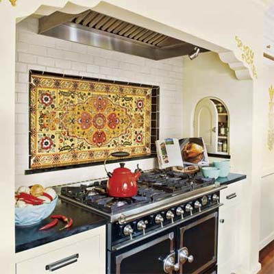 The old post road spanish revival kitchen remodel - Decoracion azulejos cocina ...