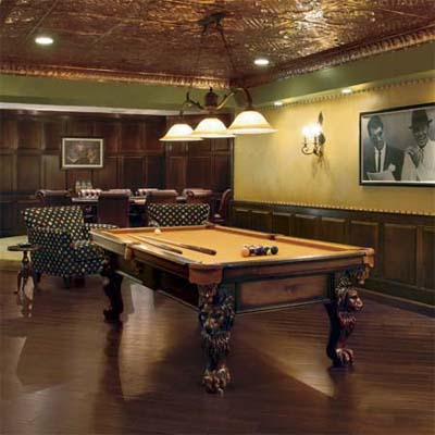 Pool Room Furniture Ideas great idea for pictures on wall by pool table at ks home home basements pinterest pool table room pool table and picture walls Billiard Room Design Idea Wainscoting Along The Wall For The Home Decorating Ideas Pinterest Best Upholstered Walls And Poker Games Ideas