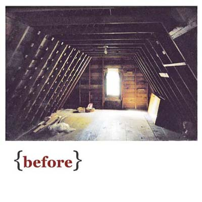 The Existing Unfinished Attic Rose 7 Feet To Collar Ties With Structure Reworked Bedroom Gained A 9 Foot Ceiling Large Skylight