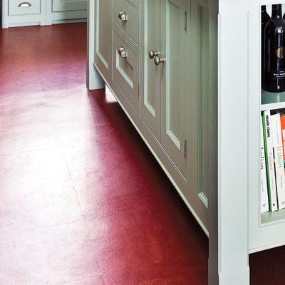 retro modern kitchen linoleum floor - hello kitty kitchen