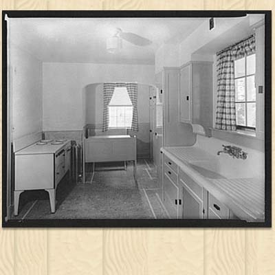 History kitchen on pinterest shorpy historical photos for 1930 s kitchen cabinets