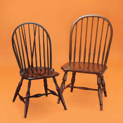 Windsor Chair Antique On Windsor Side Chairs From The Windsor Chair Shop  And Pottery Barn