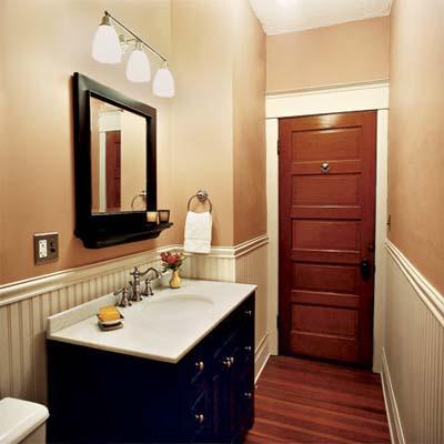 A 1908 cottage remodel for Craftsman style bathroom design ideas
