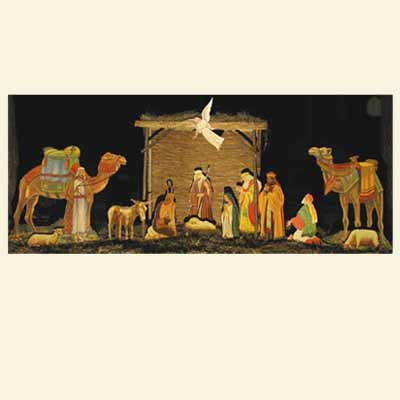 Buy Nativity Scene Paper Woodworking Plan at Woodcraft