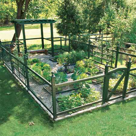 Design ideas vegetable garden picturevegetable garden for Small vegetable garden designs