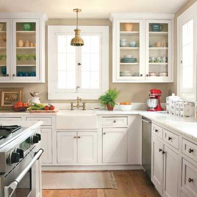Orlando colonial home kitchen