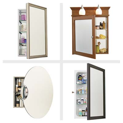 ABOUT RECESSED BATHROOM MEDICINE CABINETS | EHOW.COM