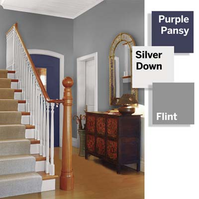 Foyer Color Ideas Adorable With Small Foyer Paint Color Ideas Image