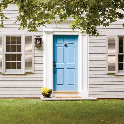 This old house easy entry upgrades to boost curb appeal for Front doors for colonial homes