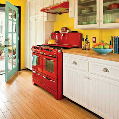 49 Best Images About Kitchens In Red On Pinterest Red Country Kitchens Stove