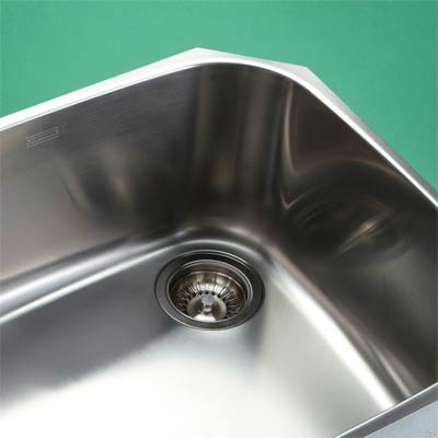 Drop in stainless steel kitchen single bowl with double drainer sink - Stainless Steel Kitchen Sinks On Stainless Steel Sink Photos Kitchen