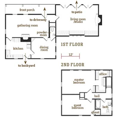 The Cambridge House - Floor Plans